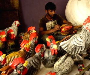 Preparations for Durga Puja celebrations on full swing