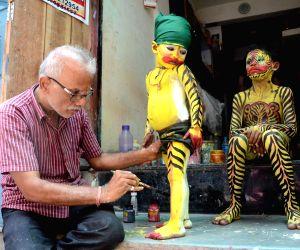Muharram' procession preparations