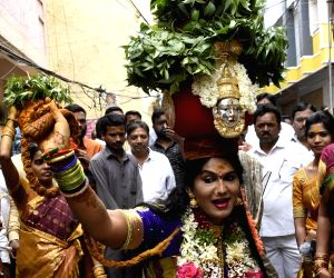 Mahakali Bonalu' celebrations