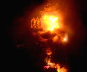 Hafiz Saeed, Nawaz Sharif effigy burnt in Amritsar on Dussehra