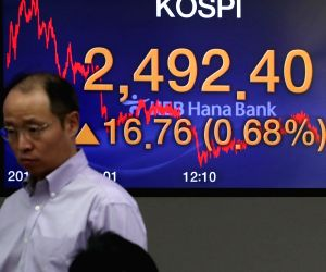 KOSPI ends up on summit day