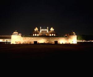 Illuminated Red Fort