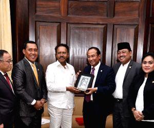 An Indonesia-India Parliamentary Friendship Group meets Lok Sabha Deputy Speaker Thambi Durai