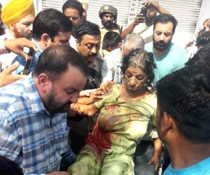 Six injured in Jammu in Pakistani shelling, injured baby succumbs