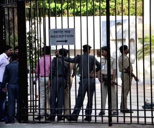 An unknown person tried a forced entry in Reserve Bank of India premises