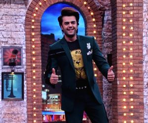 Sets of Zee TV 'Movie Masti with Manish Paul