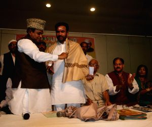 G. Kishan Reddy with Muslim scholars