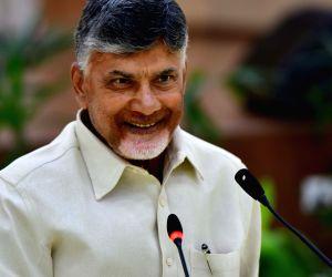 Undavalli (Andhra Pradesh): Chandrababu Naidu's press conference