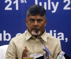 N. Chandrababu Naidu's press conference