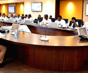 N. Chandrababu Naidu chairs review meting on Polavaram irrigation project