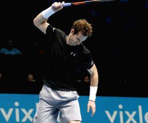 BRITAIN LONDON TENNIS ATP FINAL WAWRINKA VS MURRAY