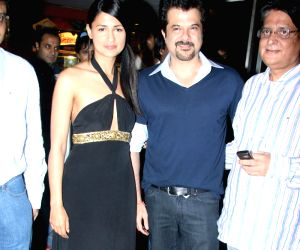 Anil Kapoor at the Mr.Singh Mrs.Mehta premier at PVR Juhu.