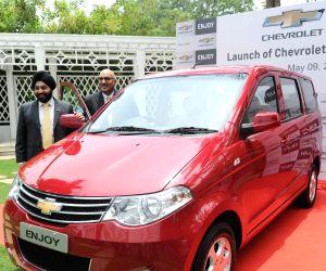 General Motors India launched Chevrolet Enjoy Car