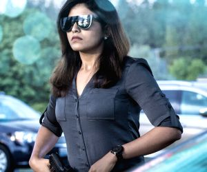 Anjali's look from Nishabdam unveiled