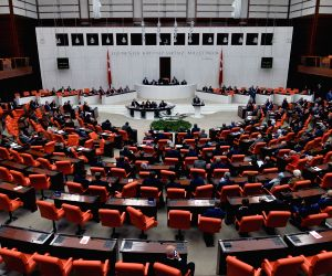 TURKEY-ANKARA-PARLIAMENT-EARLY ELECTION BILL-APPROVAL