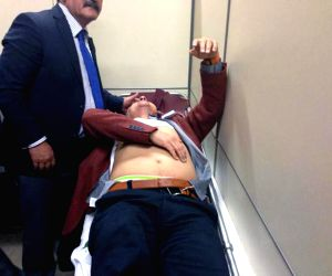 TURKEY ANKARA PARLIAMENT DEBATE INJURIES