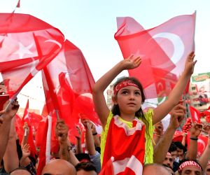 TURKEY ANKARA COUP ATTEMPT RALLY