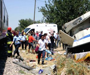 TURKEY ANKARA TRAIN CRASH