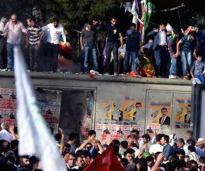 TURKEY DIYARBAKIR ELECTION RALLY EXPLOSION