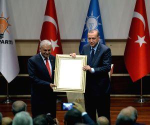 TURKEY ANKARA PRESIDENT AKP REJOINING