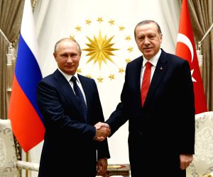 TURKEY ANKARA RUSSIAN PRESIDENT MEETING