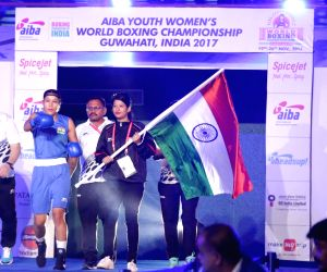 AIBA Women's Youth World Championships 2017 - semi-final - Women's Light Welter (64kg) category - Ankushita Boro Vs Thanchanok Saksri