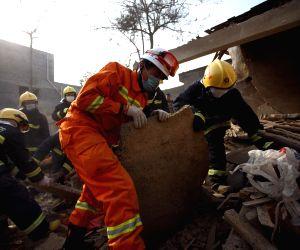 Anyang (China): Fireworks workshop blast