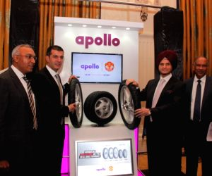 Apollo Tyres Asia Pacific, Middle East & Africa, President Satish Sharma, Chairman Onkar S Kanwar, Vice Chairman & Managing Director Neeraj Kanwar and Chief Advisor, Research & ...