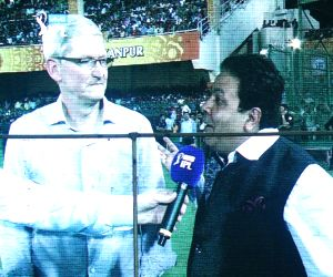IPL - Gujarat Lions vs Kolkata Knight Riders - Tim Cook