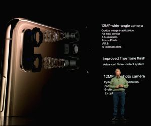 Apple officially introduced its 2018 line-up of iPhonesthe premium iPhone XS, iPhone XS Max and iPhone XR at an event in California(Image Source: IANS)