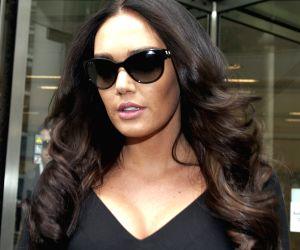 TAMARA ECCLESTONE LEAVES COURT CASE IN LONDON
