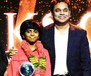 AR Rahman my big support in life, says 14-yr-old pianist Lydian Nadhaswaram
