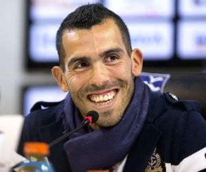 (SP)ARGENTINA BUENOS AIRES SOCCER TEVEZ
