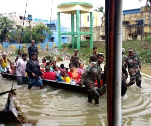 Chennai Floods - Army rescue operation