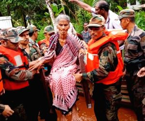 Kerala flood death toll 174, red alert remains in 12 districts