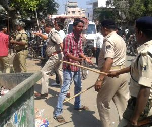 Police action on people helping cheaters in Board exam