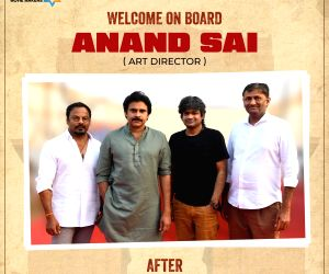 Art director Anand Sai is on board for Pawan Kalyan and Harish Shankar produced by Mythri Movie Makers