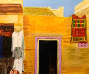Colours of Rajasthan brought alive at painting exhibition ()