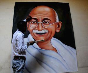 Mahatma Gandhi's painting
