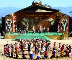 President Kovind inaugurates Hornbill Festival