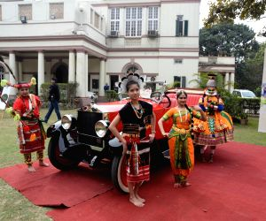 21 Gun Salute Vintage car rally - Press conference