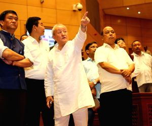 Arunachal CM inspects new assembly building