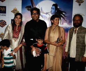 Guest at Ramayana Premiere at PVR, Juhu.