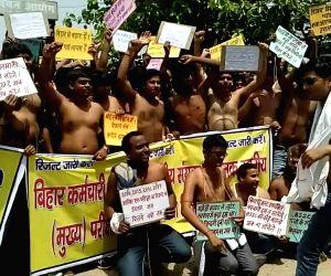 BSSC aspirants demonstration