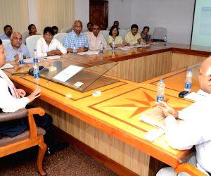 Assam CM Sarbananda Sonowal at Assam Secretariat