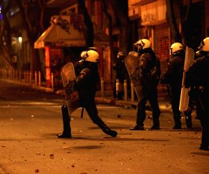 GREECE ATHENS CLASHES