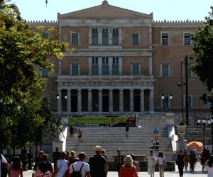 GREECE-ATHENS-EXIT FROM BAILOUTS