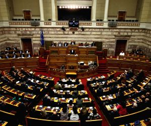 GREECE ATHENS PARLIAMENT STATE BUDGET RATIFICATION