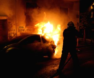 GREECE ATHENS STUDENT'S DEATH ANNIVERSARY CLASHES
