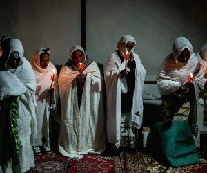 GREECE-ATHENS-ETHIOPIA-CHRISTMAS
